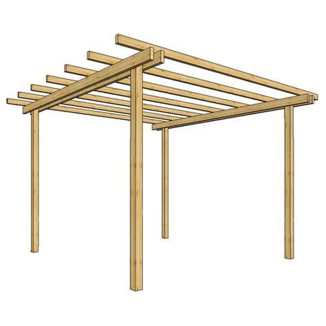 pergola da giardino pergola da giardino 240x240xh240 in legno losa legnami