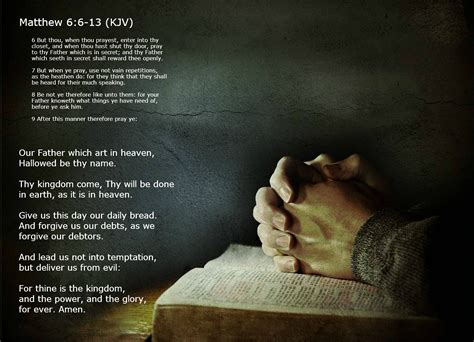 The Lord Prayer the lord s prayer