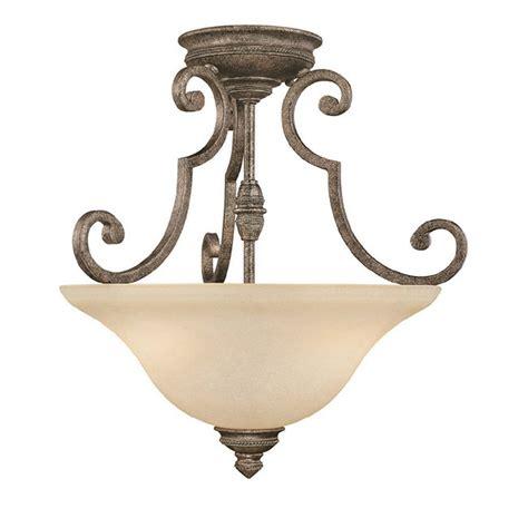 Traditional Ceiling Light Fixtures Capital Lighting 3588cs Barclay Traditional Semi Flush Mount Ceiling Light Cp 3588cs
