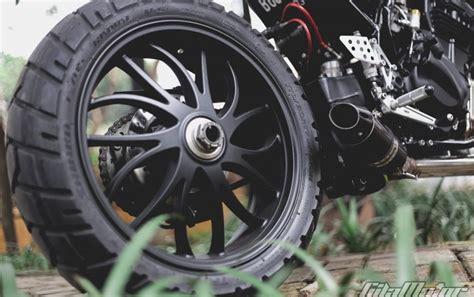 Kaliper Belakang Original Kawasaki Klxd Tracker modifikasi kawasaki 250 melawan kodrat gilamotor