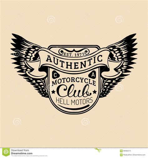 1 5 Car Garage Plans biker logo with wings illustration mc sign custom garage