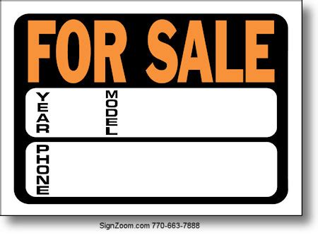 For Sale Usa2euro Com Car For Sale Sign Template