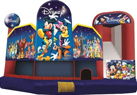 Disney Bounce House by Disney 5 In 1 Combo Combo Bounce House