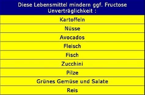 fructoseintoleranz tabelle fructoseintoleranz tabelle die wichtigsten fakten zu
