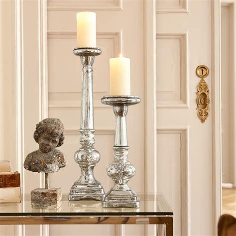 Kerzenhalter Mit Glasaufsatz by Kerzenst 228 Nder 2er Set Charlene Loberon Coming Home