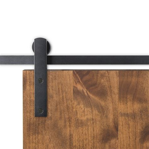 Huxley Sliding Door Hardware Barndoorhardware Com Black Barn Door Hardware