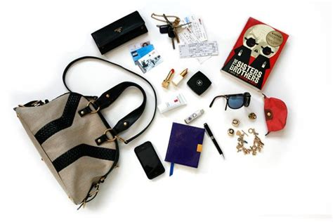 In Our Bag by What S In Your Bag Burstyn Fritz Fashion Magazine