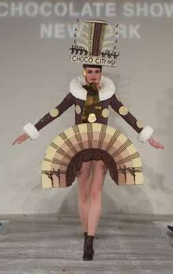 mouth watering fashion comes to life with chocolate clothing