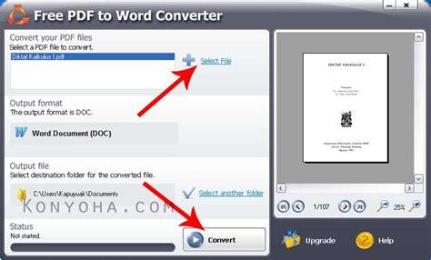 converter word ke pdf 4 cara convert pdf ke word online offline tanpa software