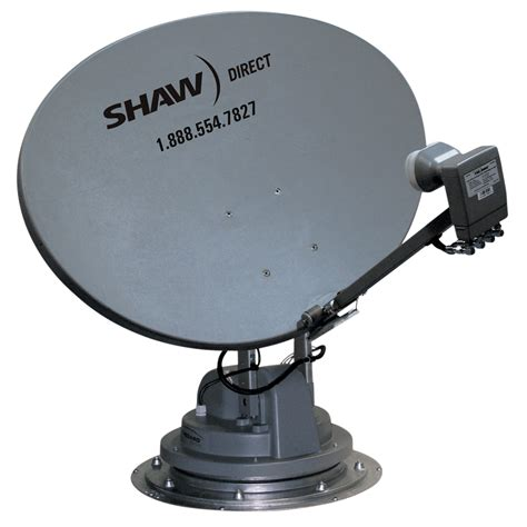 travler shaw direct satellite tv antenna reflector lnb
