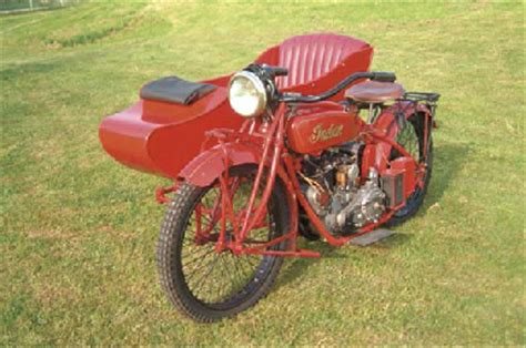 Moto Scouts Nt by C 1924 Indian Scout Motorcycle With Sidecar Christie S