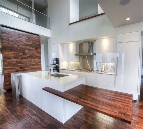 White Kitchen Cabinets With Wood Countertops Installed Products Gallery Cafecountertops Solid Wood Surfaces