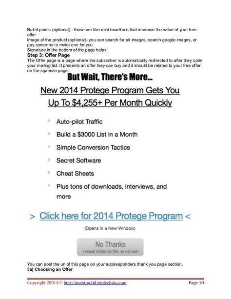 3000 a month list building plan