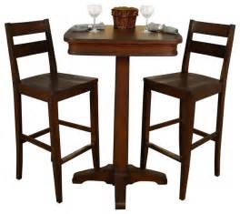 Pub Bistro Table Sets American Heritage 3 Pub Table Set With Barstools In Traditional