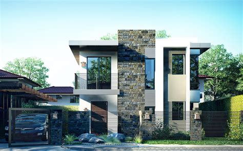 architectural design 3 storey house a picturesque modern house design is illustrated in pinoy house design 2015018 the