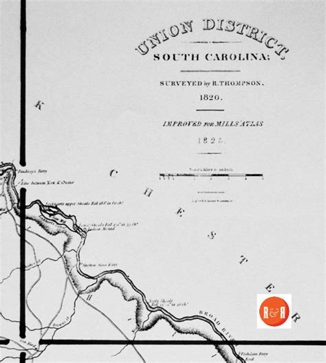 Union County Section 8 by Mills Map Of Union County Ca 1825