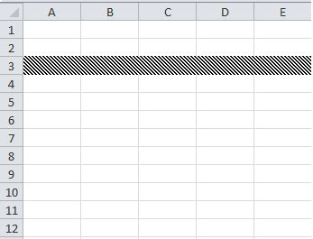 pattern color excel vba excel vba apply fill pattern to rows vba and vb net