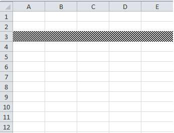 pattern color vba excel vba apply fill pattern to rows vba and vb net