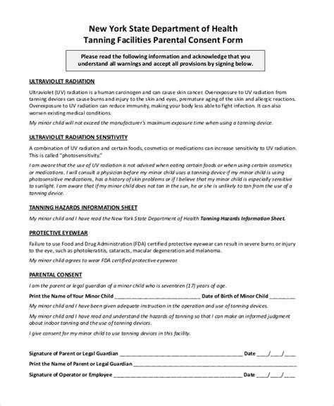 affidavit of parental consent form template gallery