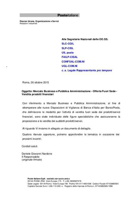 poste italiane spa sede legale vendite fuori sede