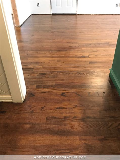 www floor my newly refinished red oak hardwood floors