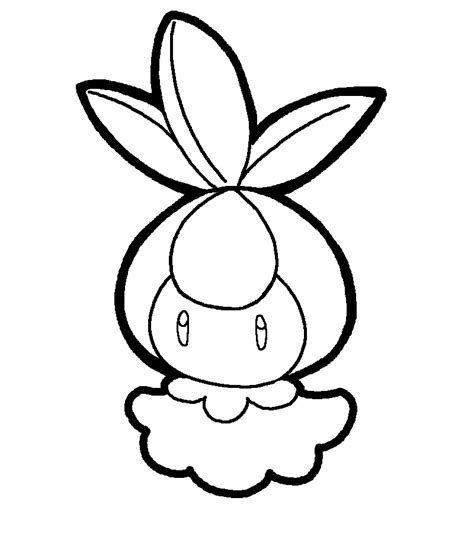 pokemon coloring pages emolga emolga free colouring pages