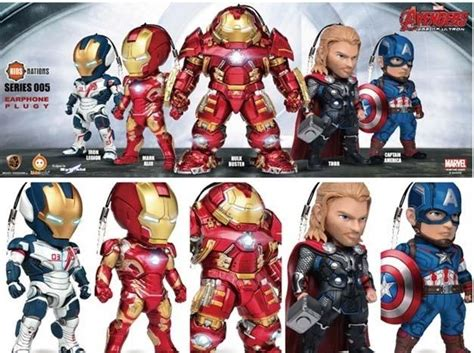 Beast Kingdom Age Of Ultron Nations Serie Limited age of ultron nations series 005 earphone accessory