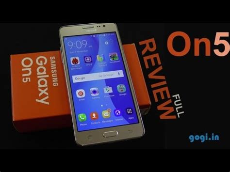 Samsung On5 Samsung Galaxy On5 Review Price Rs 8 990