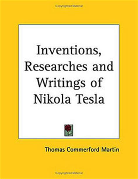 The Complete Patents Of Nikola Tesla Pdf The Inventions Researches And Writings Of Nikola Tesla