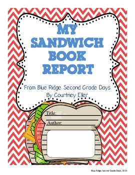 Story Sandwich Book Report by My Sandwich Book Report Construction Paper Story Elements And Students