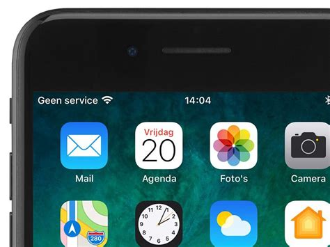 geen service iphone geen sim zoeken melding