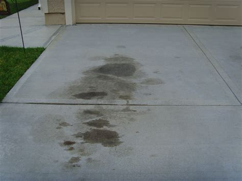 Remove Grease From Concrete Floor by How To Remove Grease And Stains From Your Garage Floor
