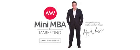 Mini Mba In by Ritson Eight Marketing Concepts Some Heavenly