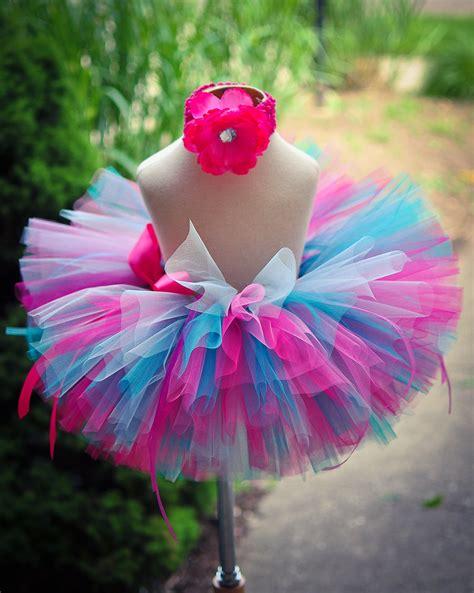 pink blue tutu skirt baby tutu toddler tutu by trinitystutus