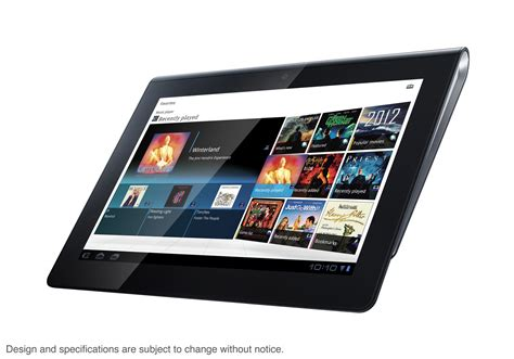 Sony Tablet S 16gb playstation tablet touching stores this month wired