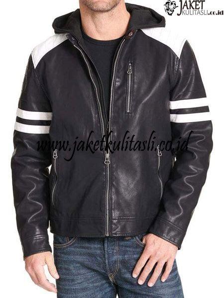 Jaket Kulit Pria Kupluk jaket kulit kupluk pria asli a877