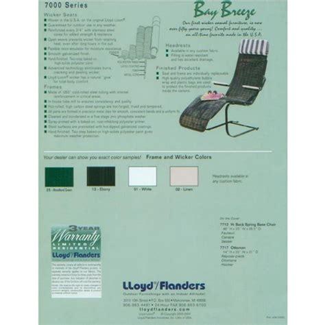 lloyd flanders wicker furniture bay breeze discontinued