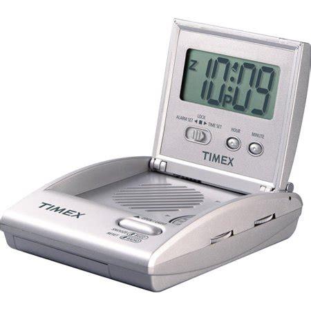 timex t315sx travel lcd alarm clock radio walmart