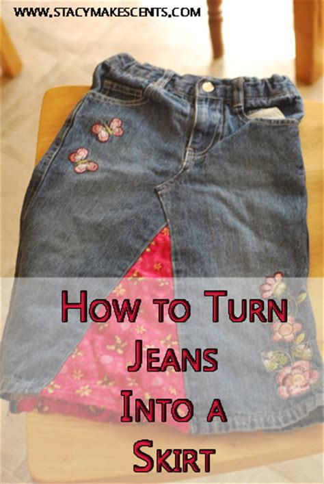 pattern for turning jeans into a skirt how to turn jeans into a skirt humorous homemaking