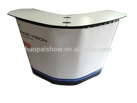 trade show display counter pop up promotion table ins