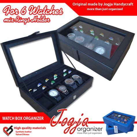 Cincin Kode Cc043 Box Kaca Ukir Nama black box mix ring organizer kotak jam kombinasi tempat cincin