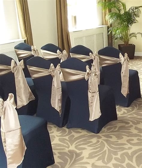 navy chair slipcover chair cover hire wedding chair covers in loughborough