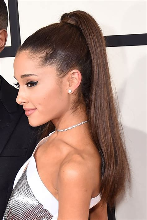 how to do ariana grande high ponytail hairstyles ariana grande hair steal her style page 2