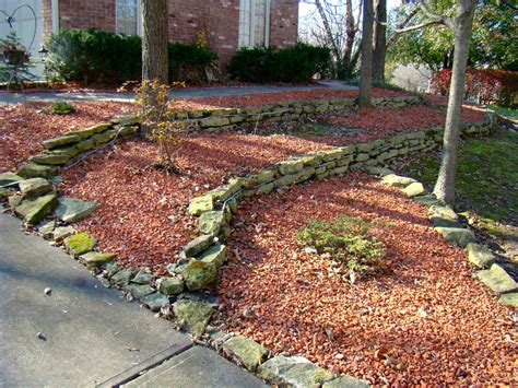 Red Brick Chips Indianapolis Decorative Rock Mccarty Mulch