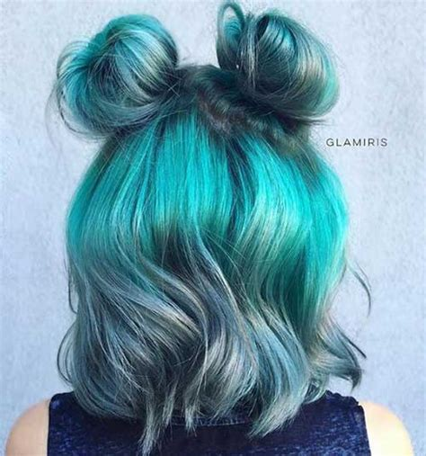 hairstyles buns for medium hair 15 cute buns for short hair short hairstyles haircuts