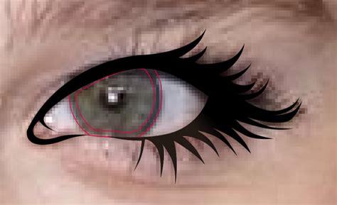 tutorial gambar mata realis tutorial membuat vector mata eye