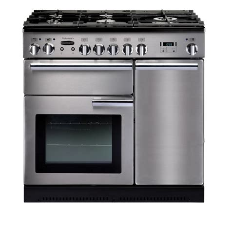 Oven Gas Stainless Uk 120 rangemaster professional plus 90 gas range cooker stainless steel