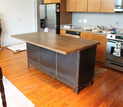 kitchen island cart breakfast butcher block dining spice items similar to industrial kitchen island butcher block