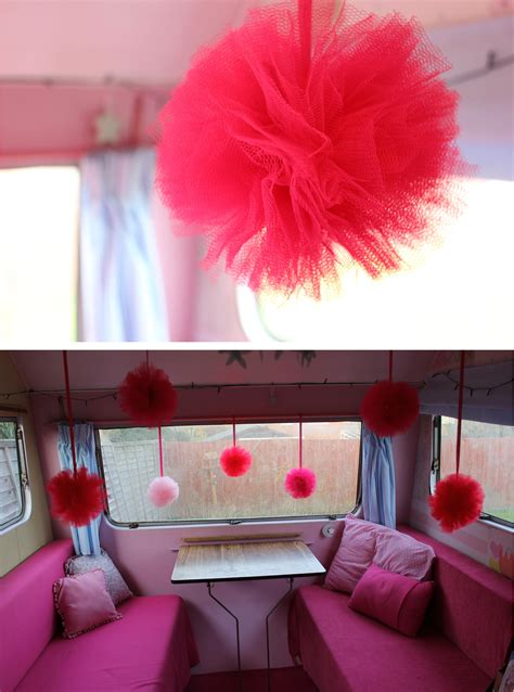 Diy Decorations by Vintage Caravan Diy Pom Pom Decorations