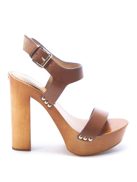 sandals wood wood and leather sandals by dsquared2 sandals ikrix